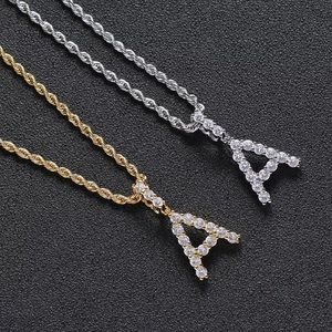 Jewelry - Stainless Steel Silver/Gold Initial Necklace